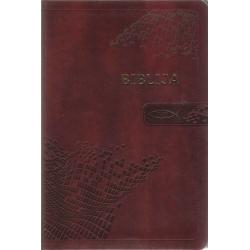 Biblija 16x23,5 cm, Ekumeninė, lanksčiais viršeliais