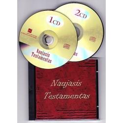 Naujasis Testamentas MP3 (CD dėžutė)