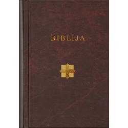 Biblija 14 x 21cm, Kanoninė, kietais viršeliais