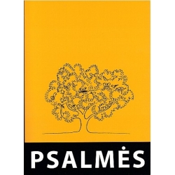 Psalmės itin stambiu šriftu