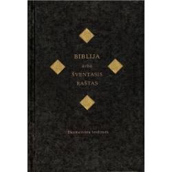 Biblija 12,5x18,5 cm, Ekumeninė, kietais viršeliais