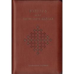 Biblija 14x20cm, Ekumeninė, viršelis su užtrauktuku