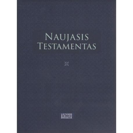 Naujasis Testamentas (12x16 cm, mėlynas)