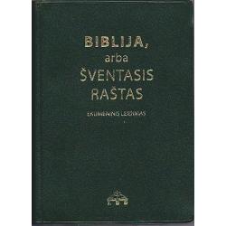 Biblija 11x15cm, Ekumeninė
