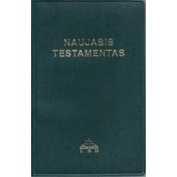 Naujasis Testamentas (11x17 cm, tamsiai žalias)