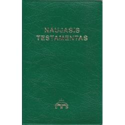 Naujasis Testamentas (11x17 cm, šviesiai žalias)
