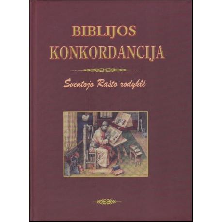 Biblijos Konkordancija. Šventojo Rašto rodyklė (bordo viršelis)