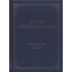 Biblijos Konkordancija. Šventojo Rašto rodyklė (mėlynas viršelis)
