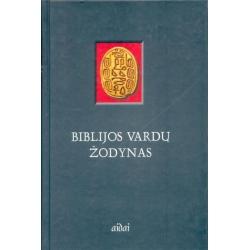 Biblijos vardų žodynas. Prekė iš ekspozicijos. Sumažinta kaina