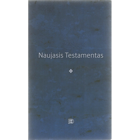 Naujasis Testamentas 2019 stambiu šriftu (12,5 x 21 cm)