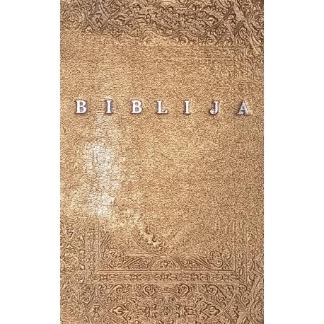 Prabangi meniškai įrišta Biblija